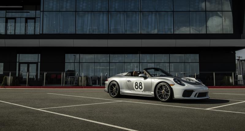 Coronavirus : l'ultime Porsche 911 Speedster aux enchères pour la bonne cause