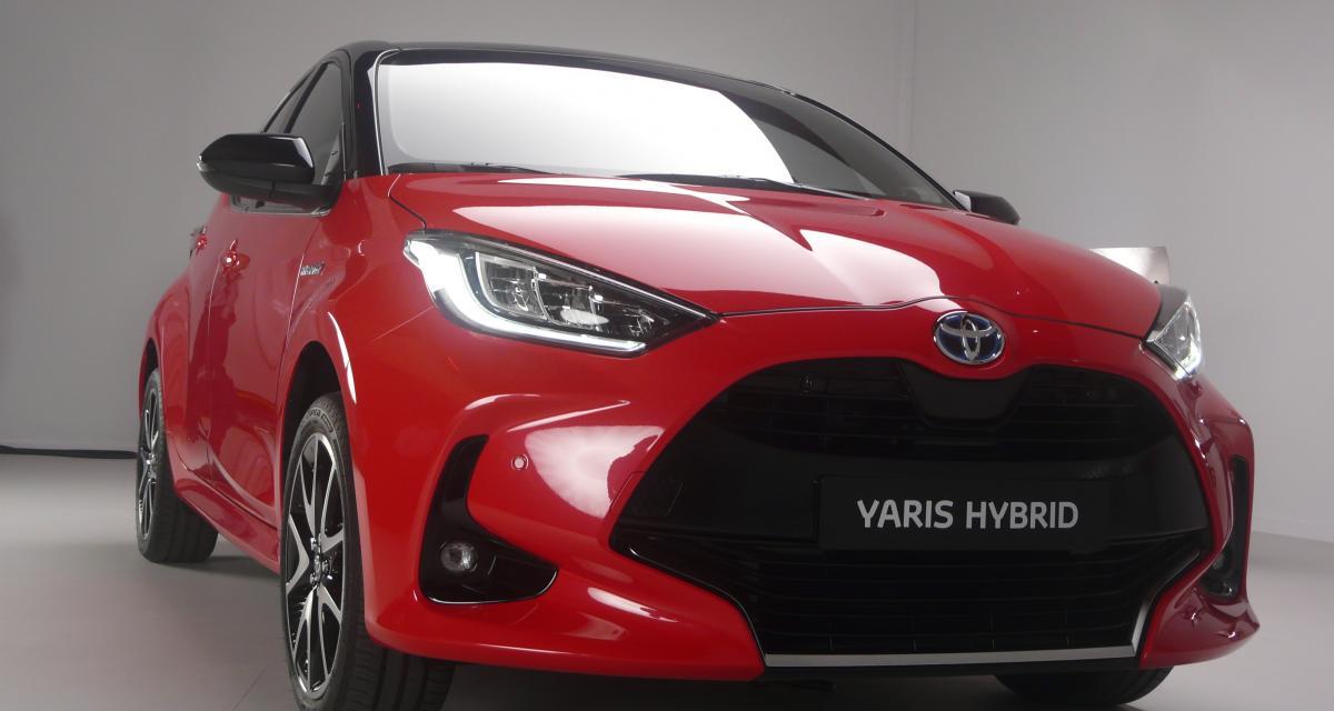 Nouvelle Yaris Hybride : Toyota innove avec la réservation en ligne