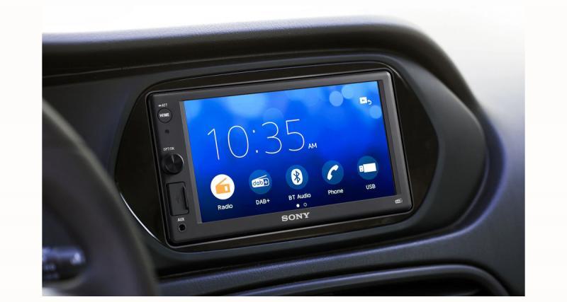 Sony dévoile un nouvel autoradio multimédia avec DAB et fonction PhoneLink