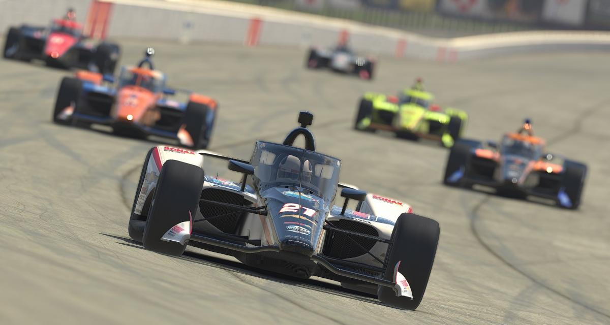 L'Indycar IRacing Challenge se rendra sur l'ovale de Motegi ce samedi !