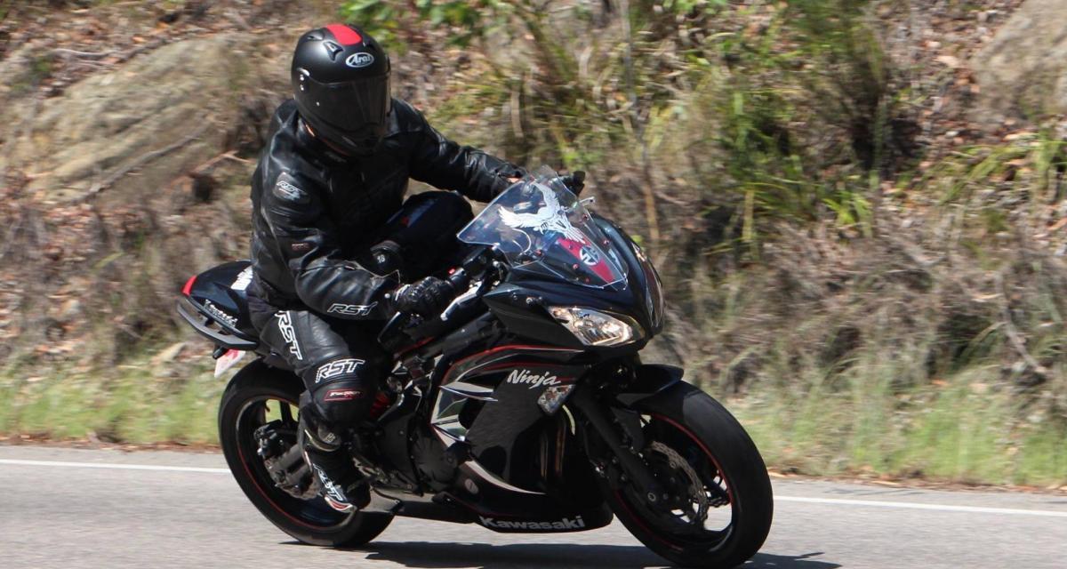 Flashé à moto à 154 km/h sur une route limitée à 80 km/h