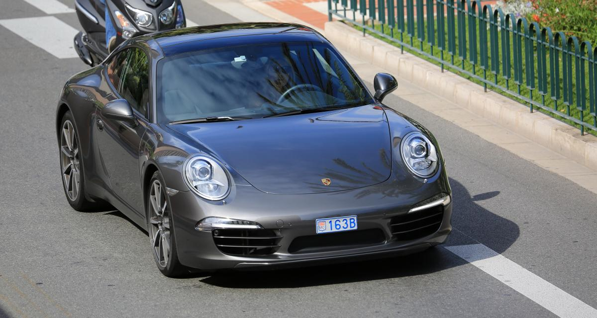 Confinement : flashé en Porche 911 à 225 km/h
