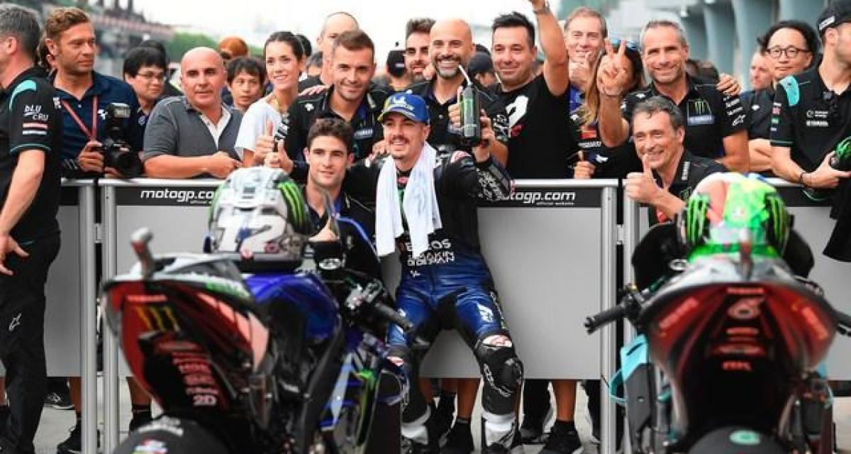 """MotoGP - Viñales : """"Rossi m'a beaucoup appris"""""""