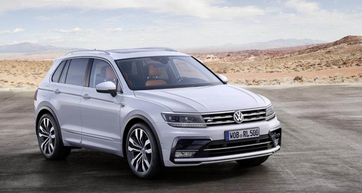 Volkswagen Tiguan (2020) : première image du facelift du SUV