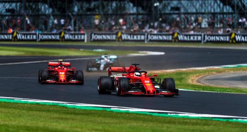 La déclaration de Sebastian Vettel à l'AFP