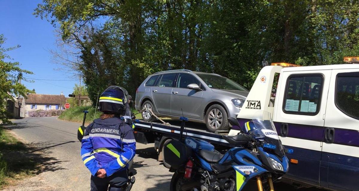 Il roule à 148 km/h au lieu de 80, sa voiture est placée en fourrière !