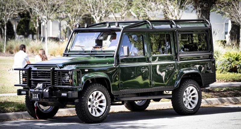 Land Rover Defender by E.C.D. Automotive Design : le couteau-suisse pour épicurien