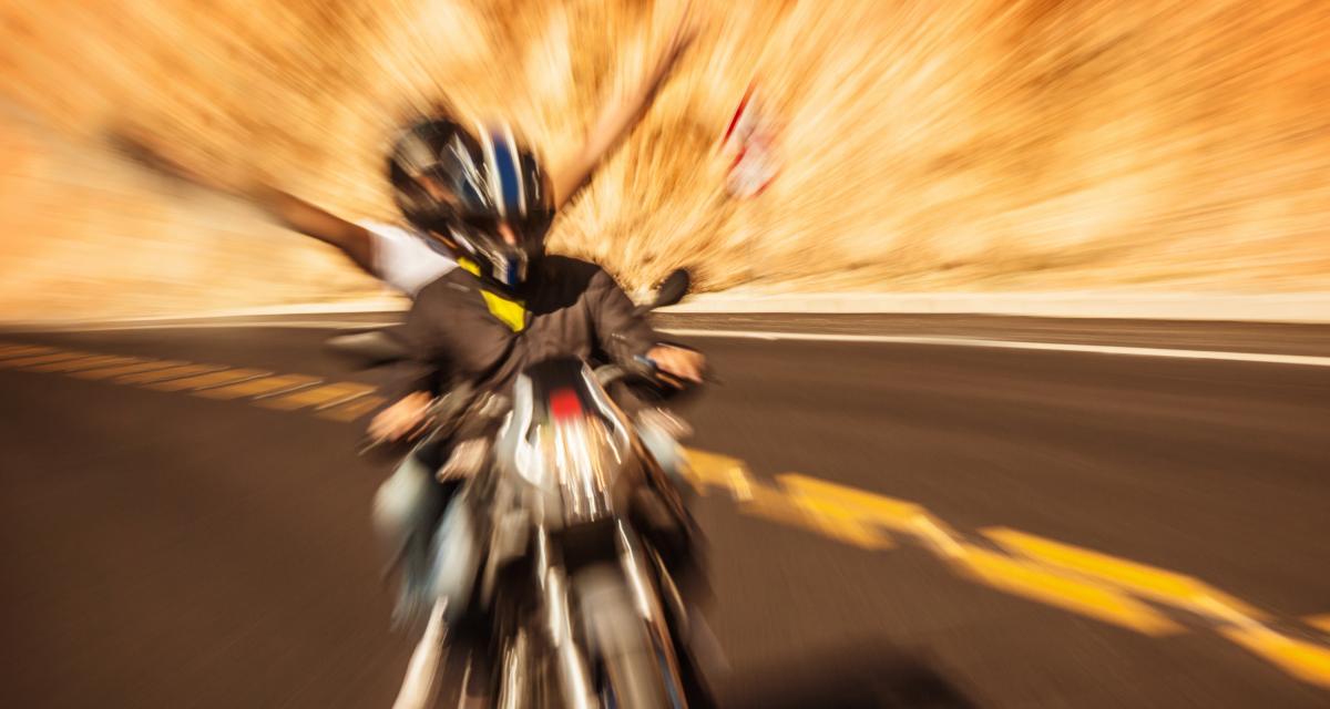 Fous du guidon : flashé sur une départementale à plus de 150 km/h sur sa Ducati