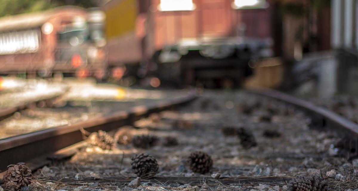 Fous du volant : ils tentent d'échapper à un contrôle et finissent sur une voie ferrée