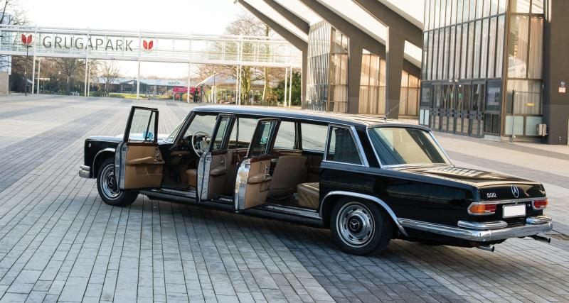 Mercedes-Benz 600 Pullman : six portes pour un président