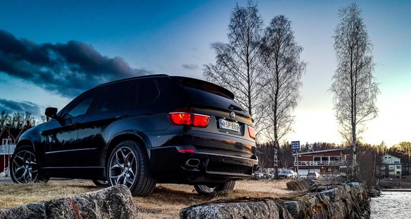 Confinement : flashé à 195 km/h en BMW X5 M50d