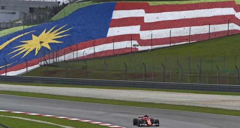 La Malaisie prévoit de revenir en F1