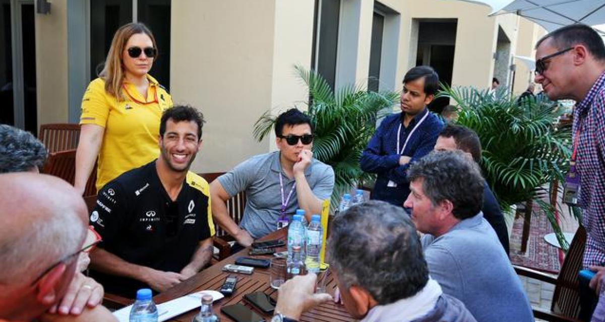 """Ricciardo à propos de son avenir : """"dans la vie, rien ne peut être exclu"""""""