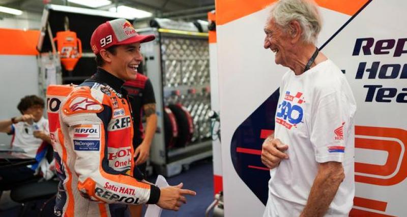 """Checa : """"les autres ont de la chance de voir Marquez courir avec une Honda"""""""
