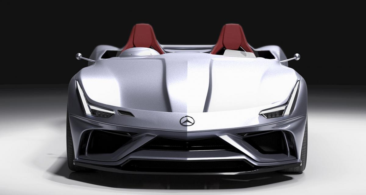 Mercedes AMG GT Silver Echo : ultime hommage à Sir Stirling Moss ?
