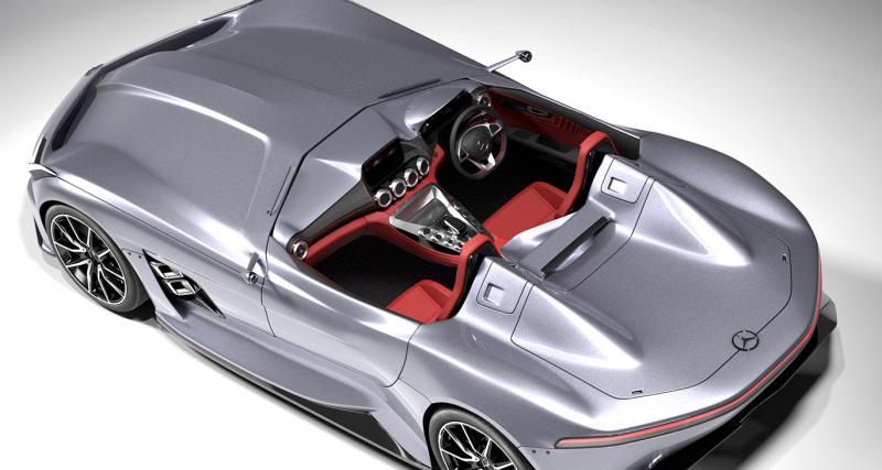 L'AMG GT Silver Echo prend la forme d'un speedster