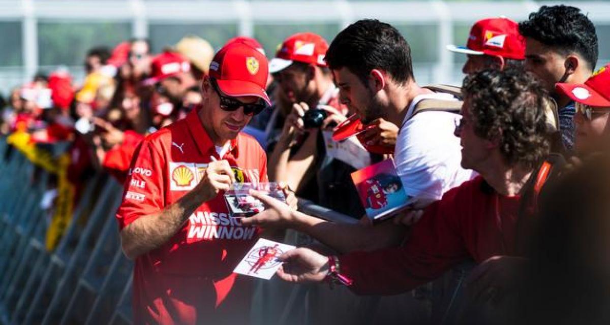 F1 : Vettel aurait dit non à la première offre de Ferrari