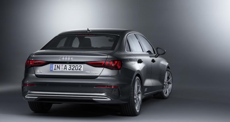 Nouvelle Audi A3 berline (2020) : compacte technophile