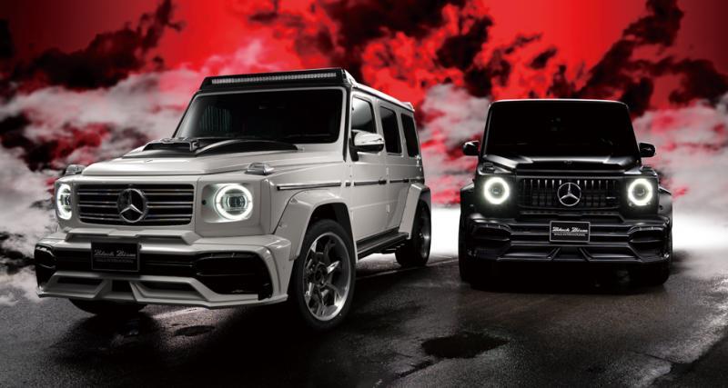 Mercedes Classe G Black Bison Edition : préparation japonaise pour le robuste allemand