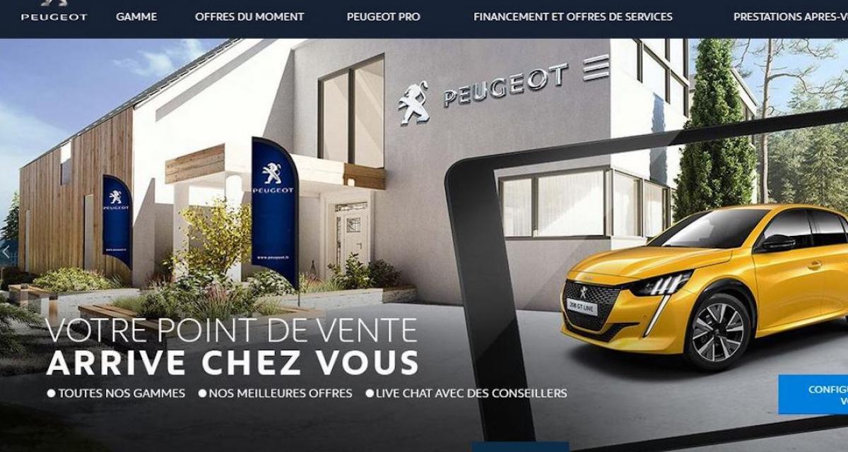 Peugeot Store : si tu ne viens pas à Peugeot...