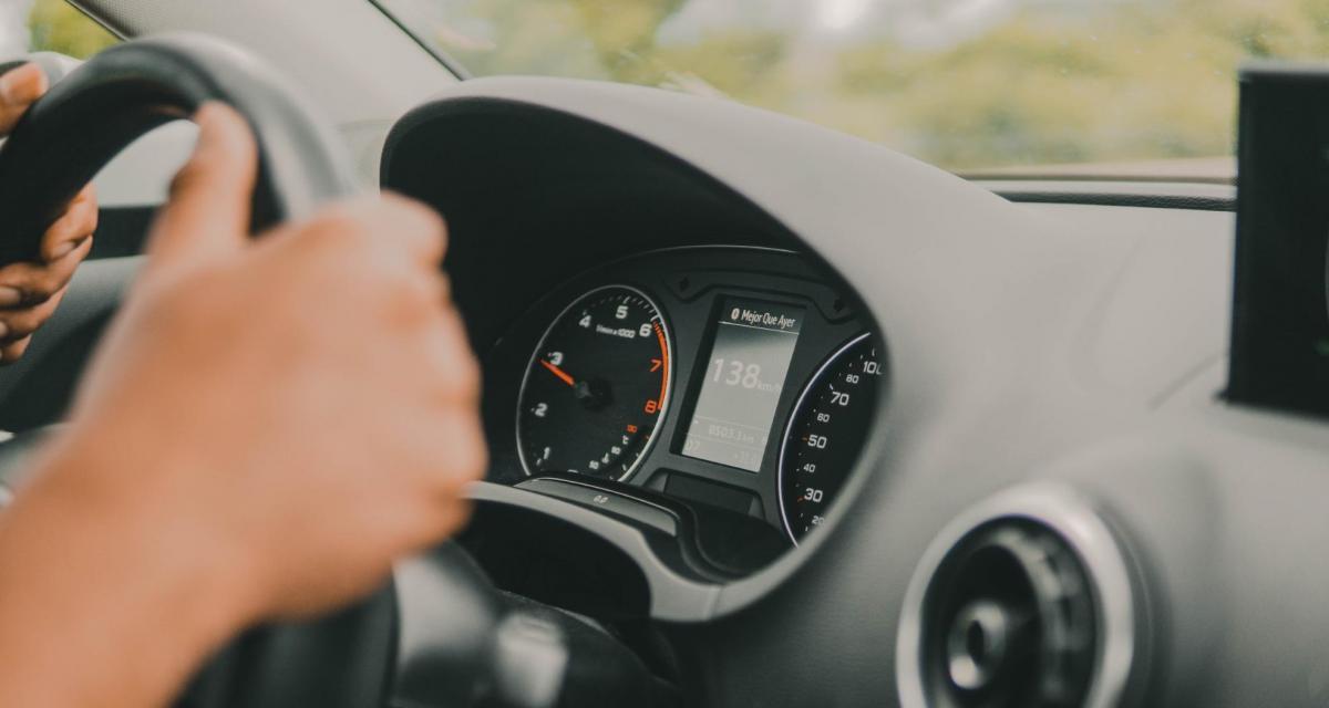 Un conducteur flashé à 209 km/h : presque 100 km/h au-dessus de la vitesse autorisée !