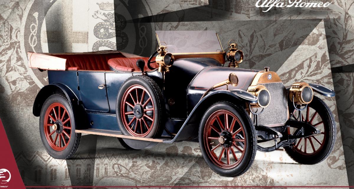 Alfa Romeo - 1906 à 1913 : les origines de la marque au biscione