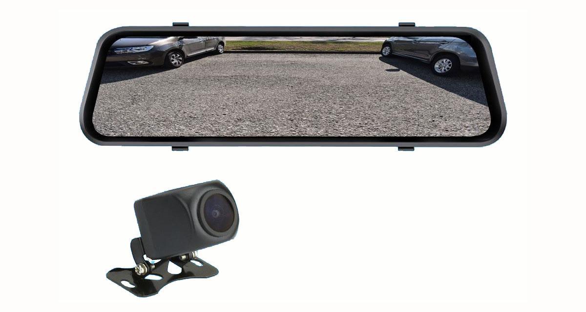 Phonocar dévoile un rétroviseur avec caméra DVR intégrée