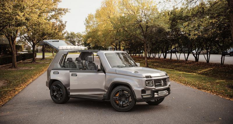 G-Niva : une Lada inspirée par le Mercedes Classe G