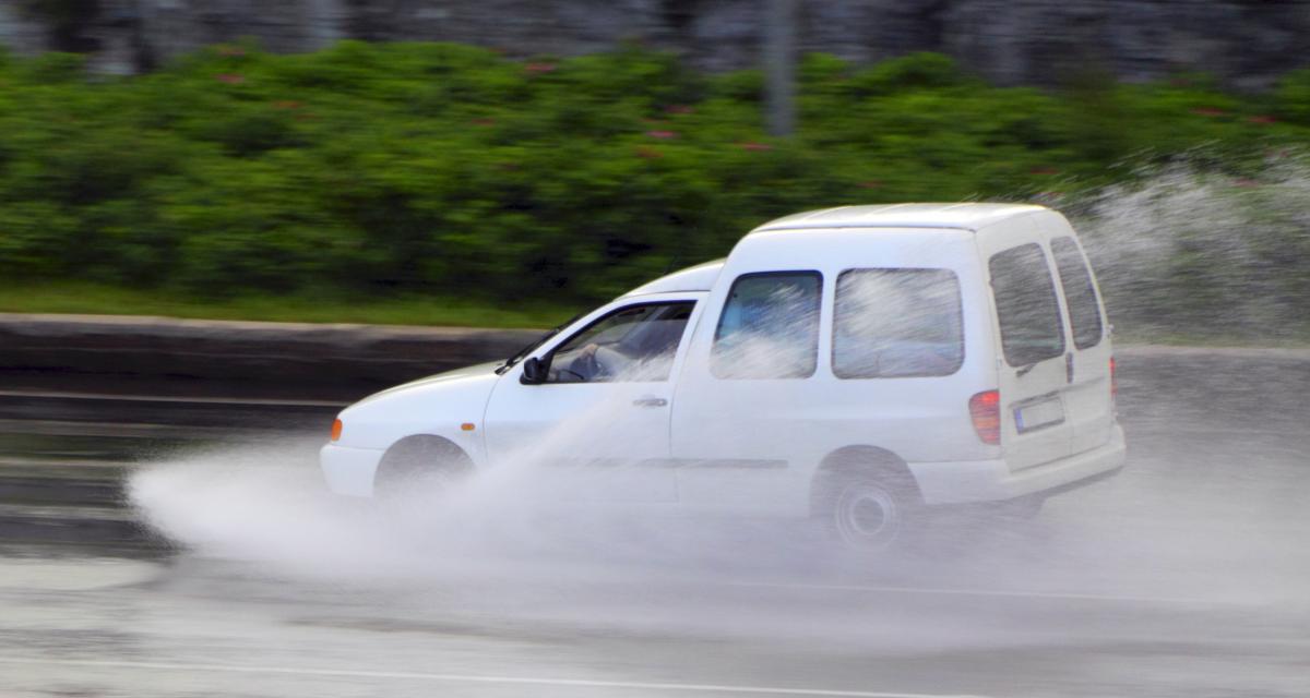 Flashé à 170 km/h sous une pluie battante !