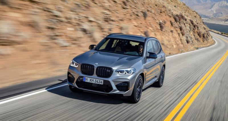 Il se filme à 290 km/h sur autoroute au volant de sa BMW X3 M !