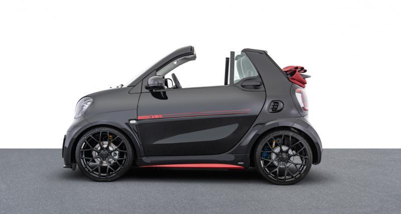 Brabus Ultimate E : la Smart EQ Fortwo Cabrio de Batman