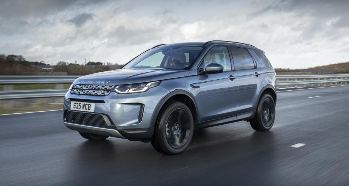 Land Rover : du jus plug-in pour les Discovery Sport et Evoque