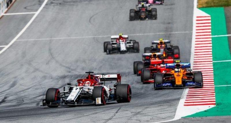La F1 dans une situation inédite