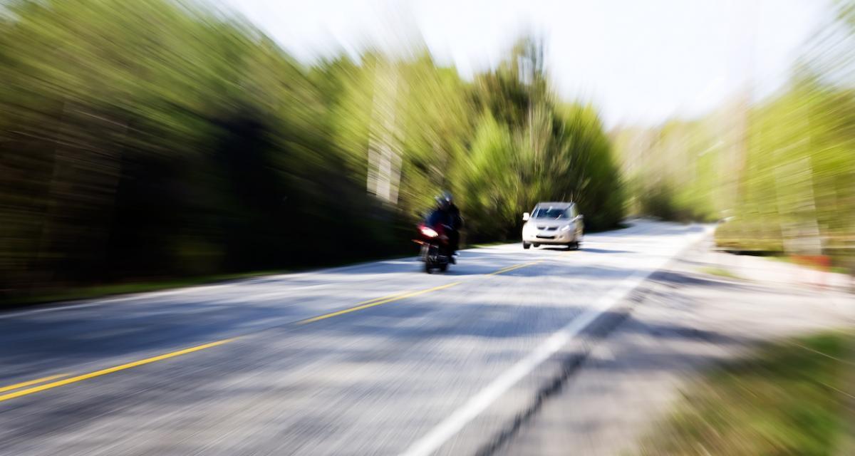 Il se fait retirer son permis de conduire après avoir roulé à 134 km/h sur une départementale