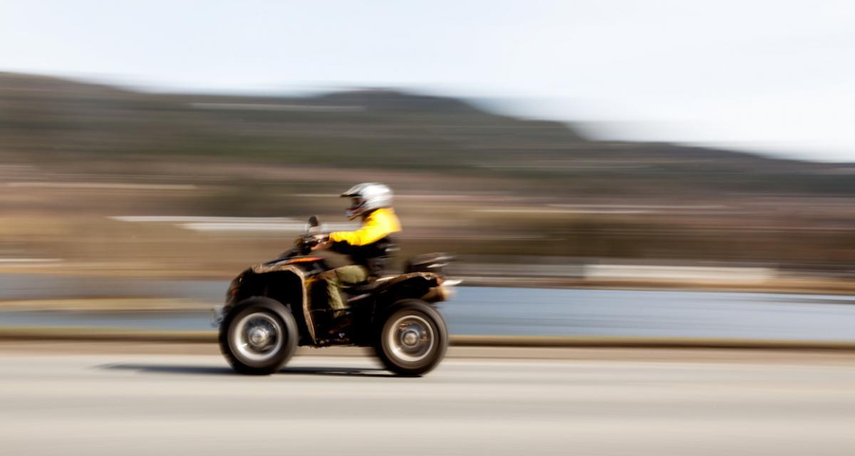 Fous des PV : 270 euros d'amende pour des courses en quad