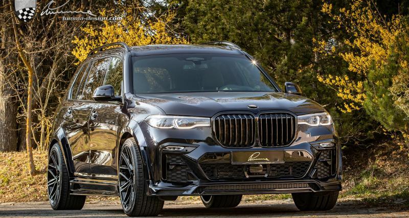 BMW X7 by Lumma Design : des roues de 24 pouces pour le SUV XXL