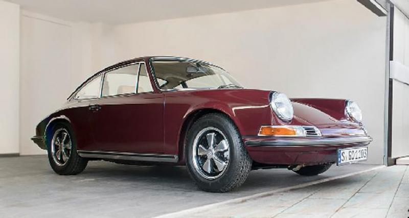 Porsche Classic : la 911 patina du bassiste de Coldplay