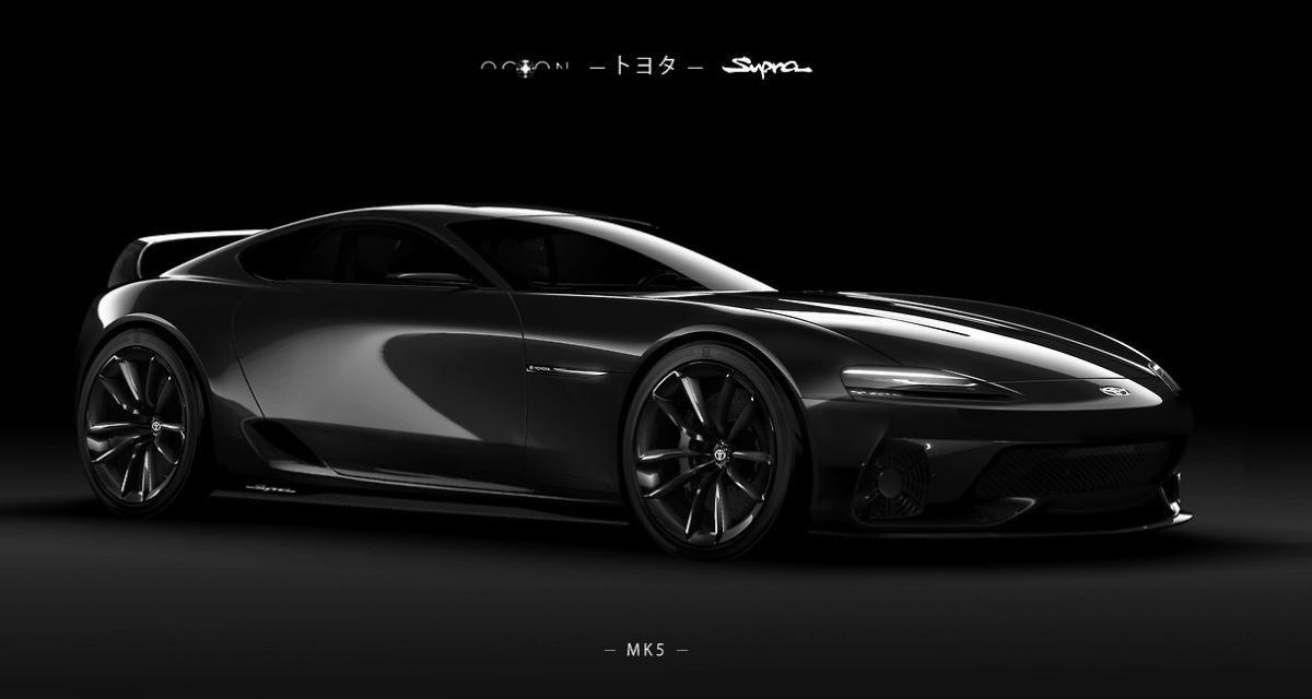 Toyota Supra Mk 5 : une interprétation néo-rétro d'inspiration Mk 4