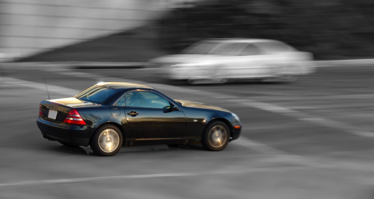 Une Mercedes flashée à 224 km/h sur le périf' !