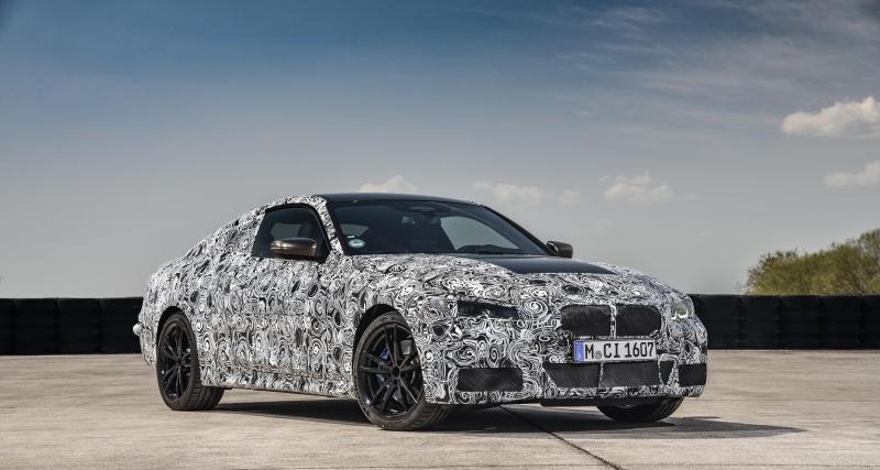 Nouvelle BMW Série 4 Coupé : derniers réglages en photos