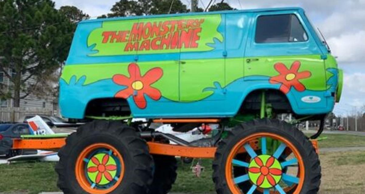 La fameuse The Monstery Machine de Scooby-Doo en vente sur eBay !