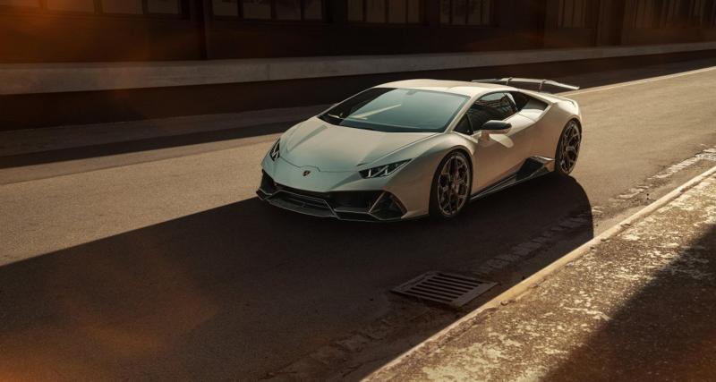 Lamborghini Huracan EVO by Novitec : le taureau aérodynamique
