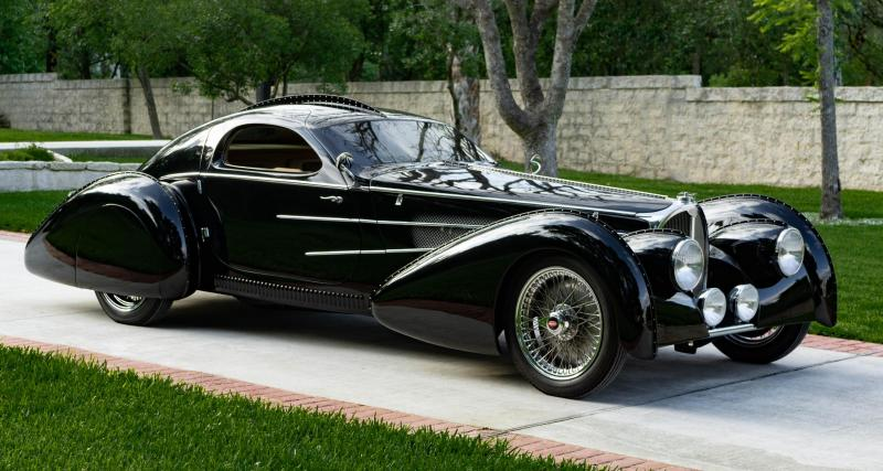 Delahaye USA Pacific : une Bugatti Atlantic pour 200.000 $