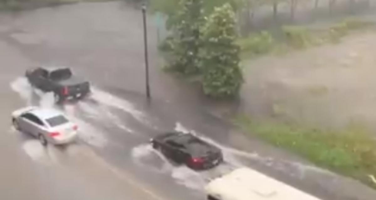 En pleine rue, il noie sa McLaren 600 TL Spider (Vidéo !)