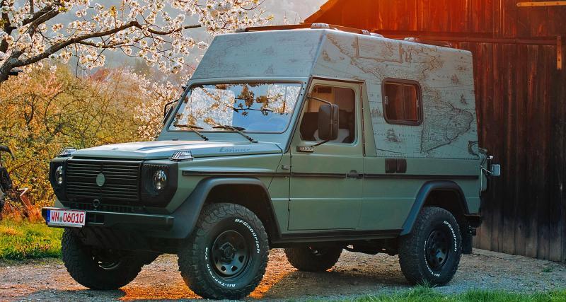 Camping-car Mercedes 230 GE by Lorinser : retour aux fondamentaux