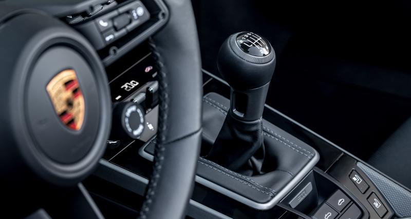 Porsche : la boîte manuelle débarque sur les 911 Carrera S et 4S