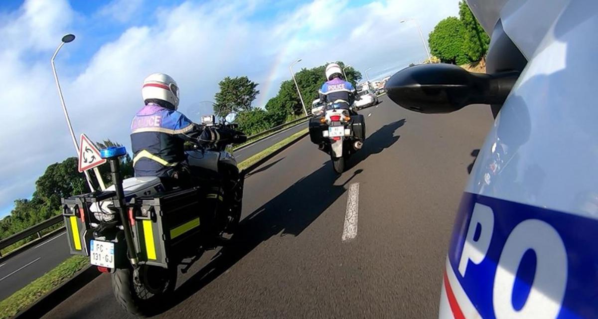 50 km/h au-dessus de la vitesse max : permis suspendu, moto confisquée