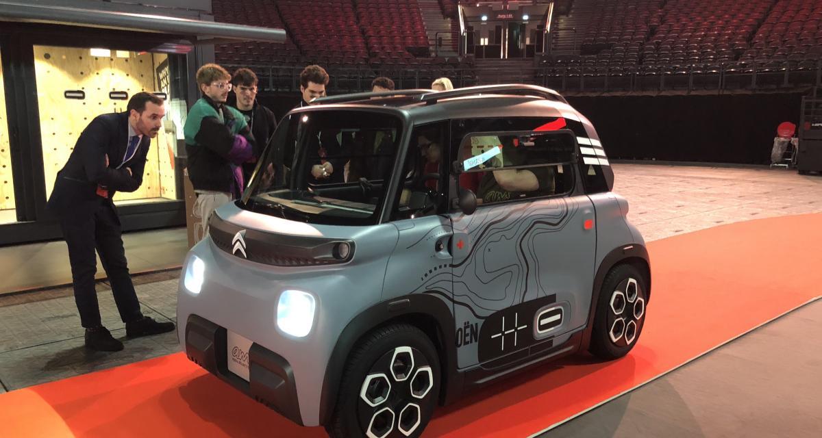 Citroën Ami : commande à partir du 11 mai, livraison en juillet