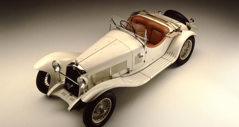 Alfa Romeo 6C 1750 : le fleuron du constructeur italien dans l'entre deux guerres