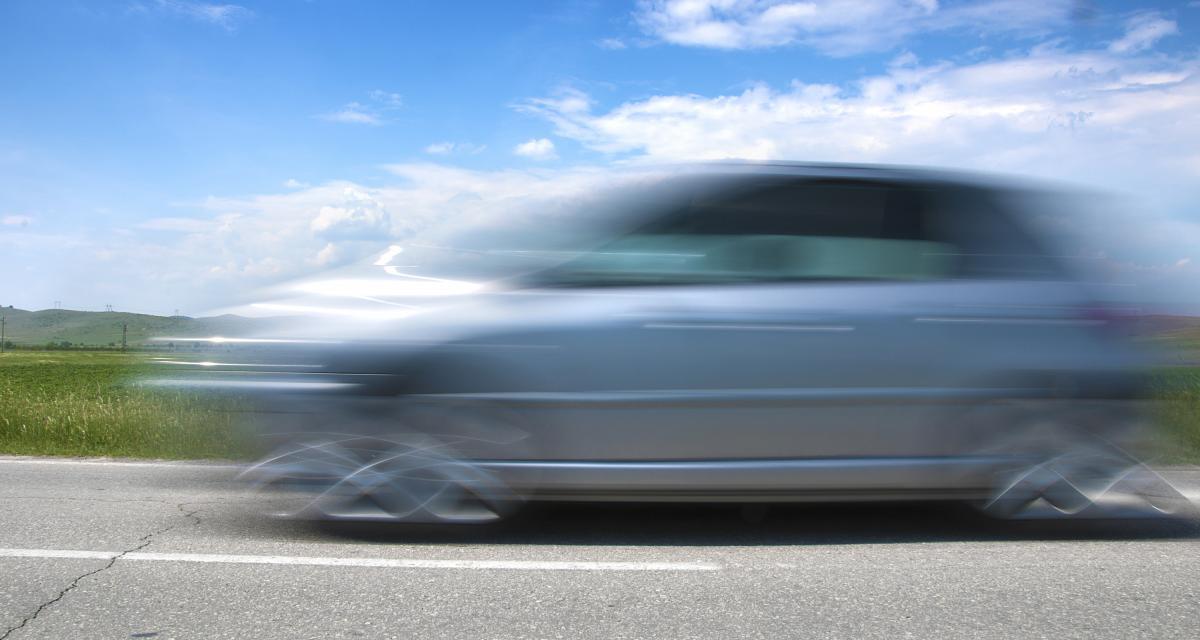 Excès de vitesse : un conducteur flashé à 190 km/h